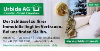 Urbida AG, 7018 Flims-Waldhaus