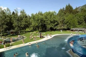Schwimmbad Fontanivas - das einzige Freibad in der Surselva!